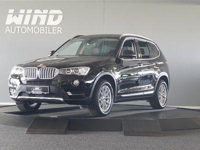 brugt BMW X3 20D 2,0 D XDrive Steptronic 190HK 5d 8g Aut.