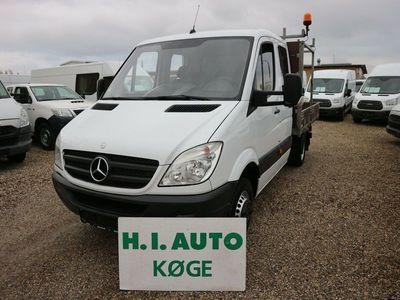 brugt Mercedes Sprinter 516 2,2 CDi Mandskabsvogn m/lad