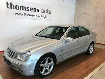 brugt Mercedes C320 3,2 Elegance aut.