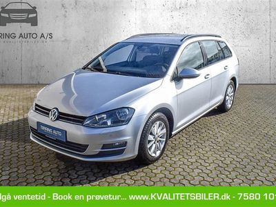 brugt VW Golf Variant 1,6 TDI BMT Comfortline 105HK Stc - Personbil - sølvmetal