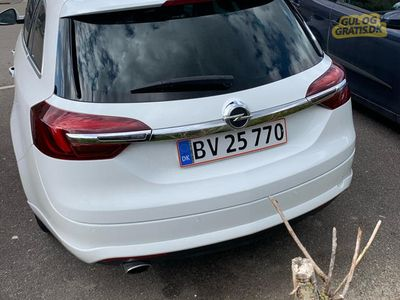 brugt Opel Insignia 2.0 163HK OPC-LINE