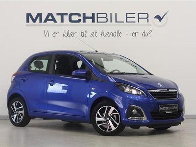 brugt Peugeot 108 1,0 e-Vti Allure 72HK 5d