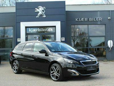 brugt Peugeot 308 2,0 BlueHDi 150 Allure SW