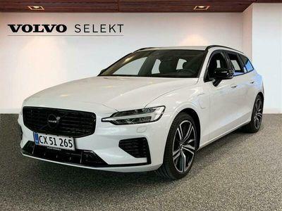 brugt Volvo V60 2,0 T6 Twin Engine Plugin-hybrid R-design 340HK Stc 8g Aut.
