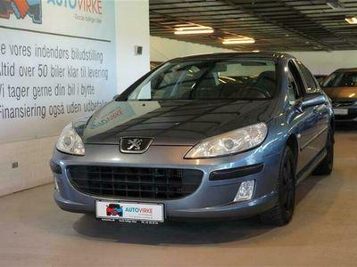 brugt Peugeot 407 1,6 HDI XR 109HK