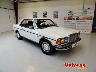 second-hand Mercedes 230 CE (C123)