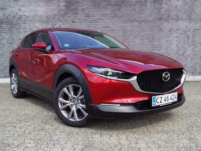 brugt Mazda CX-30 2,0 Skyactiv-G Mild hybrid Cosmo m. Technology Pack 150HK 5d 6g Aut.