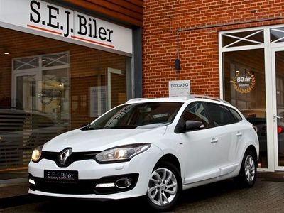 brugt Renault Mégane III 1,5 dCi Limited Edition ST 110HK 5d