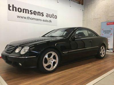 brugt Mercedes CL600 5,8 aut.