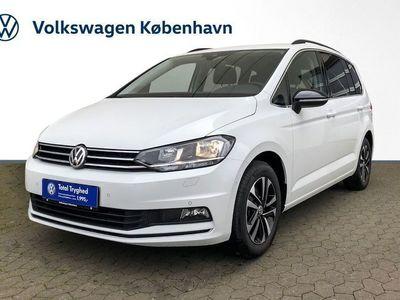 brugt VW Touran 1,6 TDi 115 IQ.Drive DSG 7prs