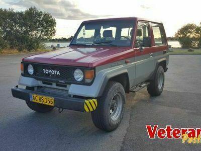 brugt Toyota Land Cruiser LJ70