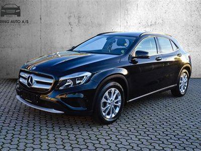 brugt Mercedes GLA200 1,6 156HK 5d 6g - Personbil - Sort