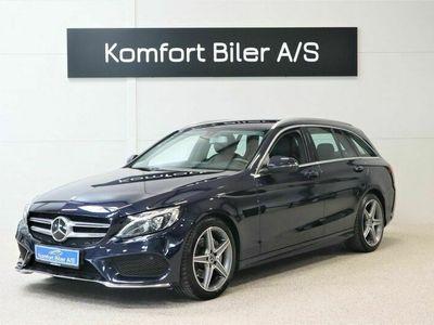 brugt Mercedes C220 d AMG Line stc. aut. 2,2