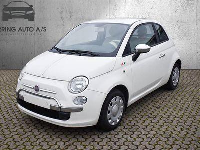 brugt Fiat 500 1,2 Pop 69HK 3d - Personbil - Hvid