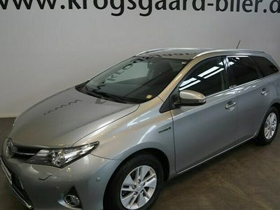 brugt Toyota Auris Touring Sports 1,8 VVT-I Hybrid H2+ Comfort E-CVT 136HK Stc Aut.