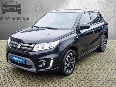brugt Suzuki Vitara 1,6 DDIS Active 120HK 5d - Personbil - sortmetal