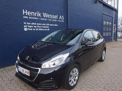 brugt Peugeot 208 1,5 BlueHDi Envy 100HK 5d A++