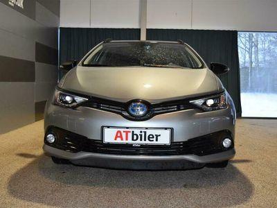 brugt Toyota Auris Touring Sports 1,8 B/EL Prestige 136HK Stc Aut. A++