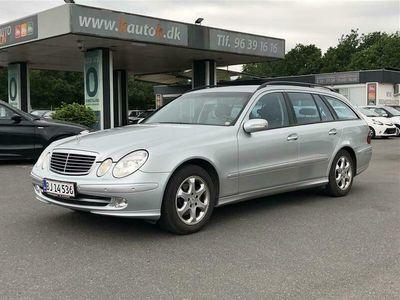 brugt Mercedes E270 CDI aut. 177HK Stc