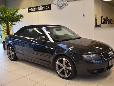 brugt Audi A4 Cabriolet 3,0 V6 Multitr.