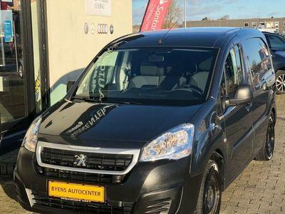 brugt Peugeot Partner 1,6 BlueHDi 100 L1 Premium Van