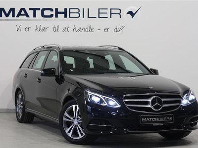 brugt Mercedes E350 3,0 Bluetec 9G-Tronic 258HK Stc 9g Aut.