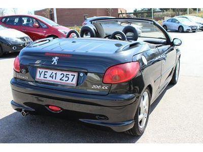 brugt Peugeot 206 CC 1,6 Griffe