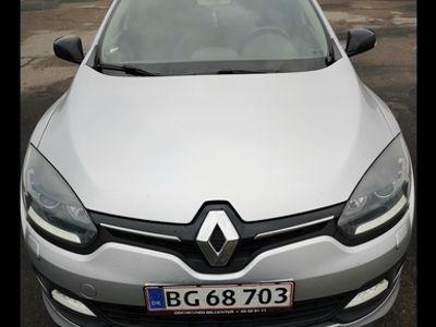 brugt Renault Mégane 1.5 110 HK LIMITED