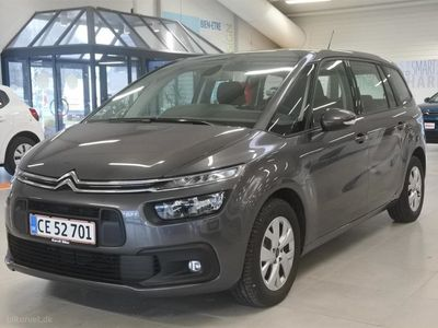 brugt Citroën Grand C4 Picasso 1,6 Blue HDi Iconic Free EAT6 start/stop 120HK 6g Aut.