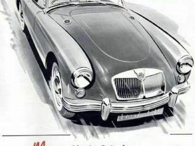 brugt MG A købes...