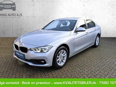 brugt BMW 320 d 2,0 D Advantage 190HK 8g Aut. - Personbil - sølvmetal