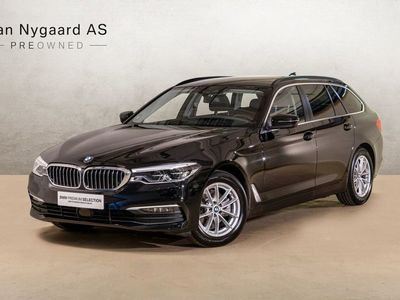 brugt BMW 520 d 2,0 Touring Connected xDrive aut.