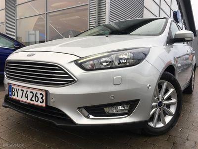 brugt Ford Focus 1,0 EcoBoost Titanium Plus 125HK Stc 6g