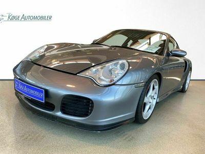 brugt Porsche 911 Turbo 911 Turbo3,6 Coupé Tiptr. 2d 3,6 Coupé Tiptr. 2d