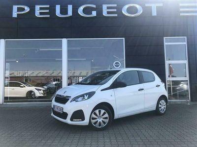 brugt Peugeot 108 1,0 e-Vti Strike 72HK 5d