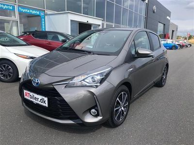 brugt Toyota Yaris Hybrid 1,5 B/EL Premium Safety Sense E-CVT 100HK 5d