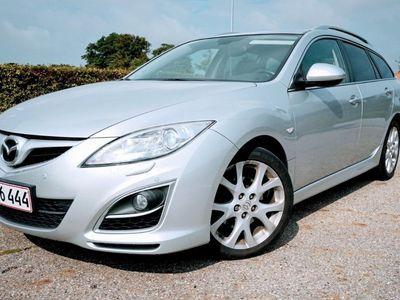 brugt Mazda 6 2,2 DE Sport 129HK Stc