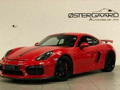 brugt Porsche Cayman GT4