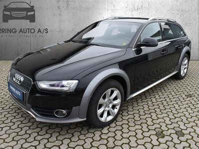 brugt Audi A4 Allroad 3,0 TDI Quat S Tron 245HK Stc 7g Aut. - Personbil - Sort