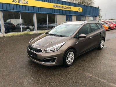 brugt Kia cee'd 1,6 CRDi 136 Style+ Clim SW DCT
