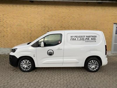brugt Peugeot Partner L1 V1 1,5 BlueHDi Ultimate PRO X 100HK Van