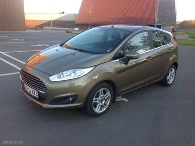 used Ford Fiesta 1,0 EcoBoost Titanium 100HK 5d 6g Aut.