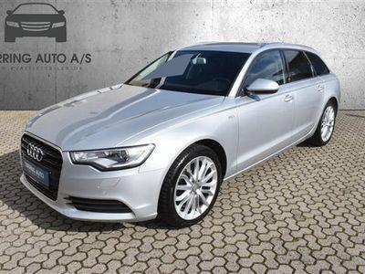 brugt Audi A6 Avant 3,0 TDI Multitr. 204HK Stc Trinl. Gear - Personbil - sølvmetal