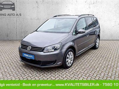 brugt VW Touran 2,0 blueMotion TDI Comfortline 140HK 6g - Personbil - koksmetal - 7 pers.