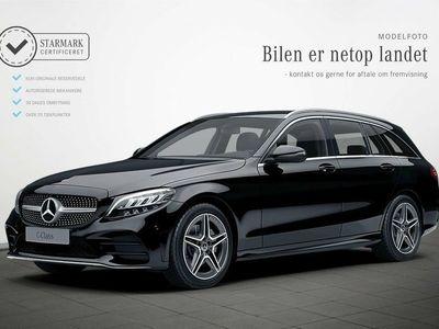 gebraucht Mercedes C200 1,5 AMG Line stc. aut.
