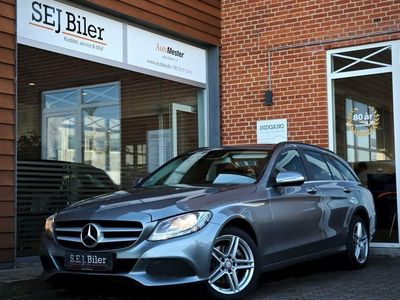 brugt Mercedes C220 2,1 BlueTEC Business stc. 170HK st.car
