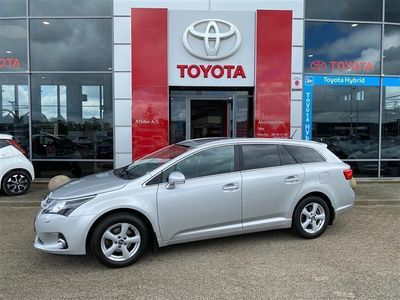 brugt Toyota Avensis 1,8 VVT-I T2 Touch 147HK Stc