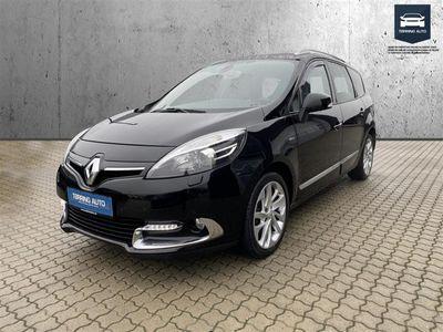 brugt Renault Grand Scénic 1,6 Energy DCI Bose 130HK 6g - Personbil - Sortmetal - 7 pers.