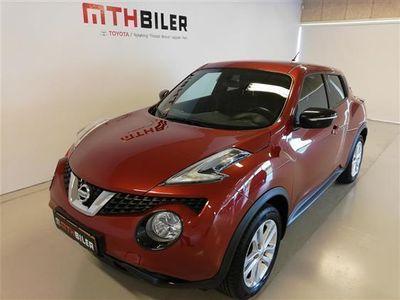 usado Nissan Juke 1,2 Acenta 4x2 115HK 5d 6g