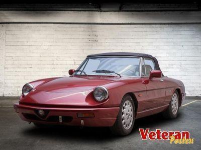 brugt Alfa Romeo Spider 2,0 QV